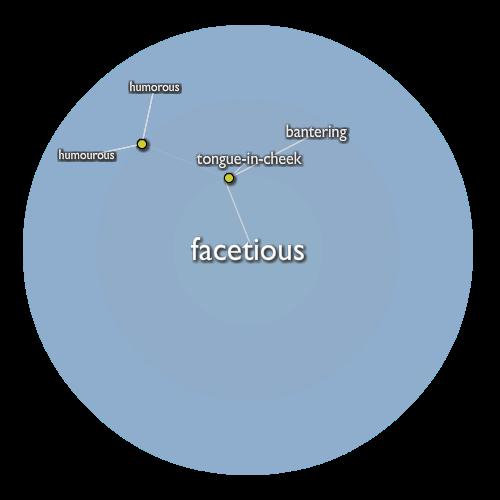 Facetious